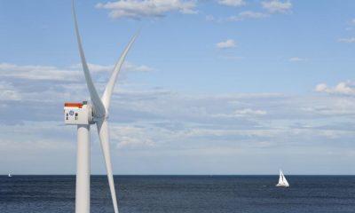 Dünyanın en büyük off-shore rüzgar türbini İngiltere'ye teste gidiyor