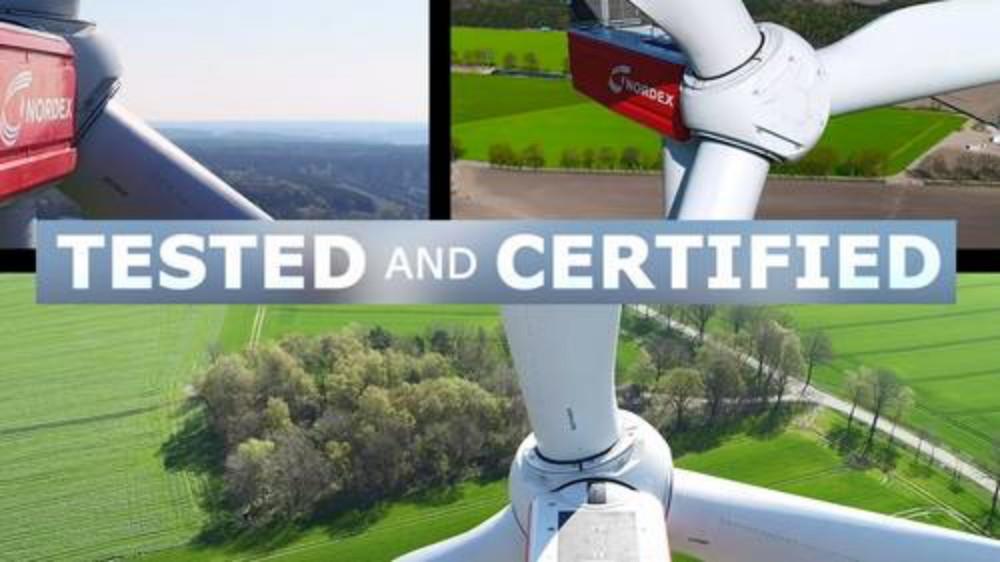 Nordex sertifika