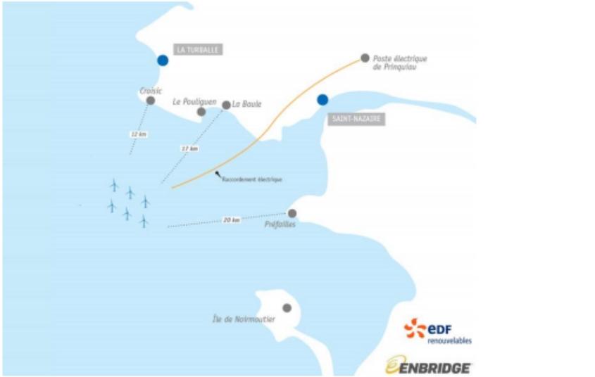 Saint- Nazaire Offshore projesinde