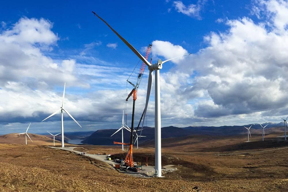 Avrupa elektriğinin %15 rüzgardan